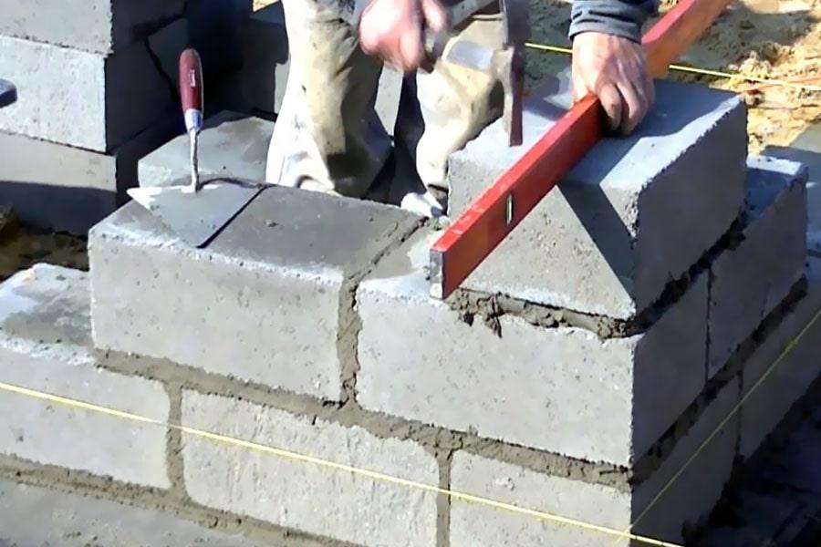هزینه دیوار کشی با بلوک سیمانی